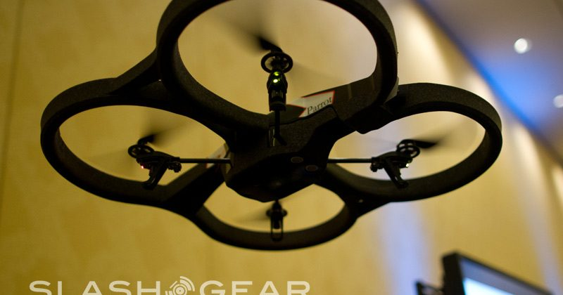 Parrot AR Drone 2.0 has better controls and 720p video