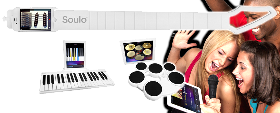 Soulo iPhone, iPad app-cessory instruments announced