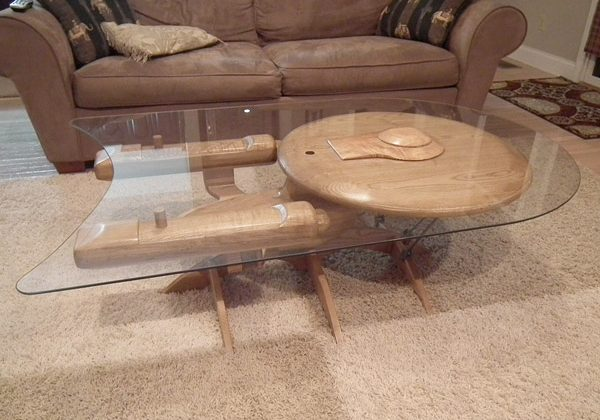 Star Trek Enterprise coffee table is the stuff of geek dreams