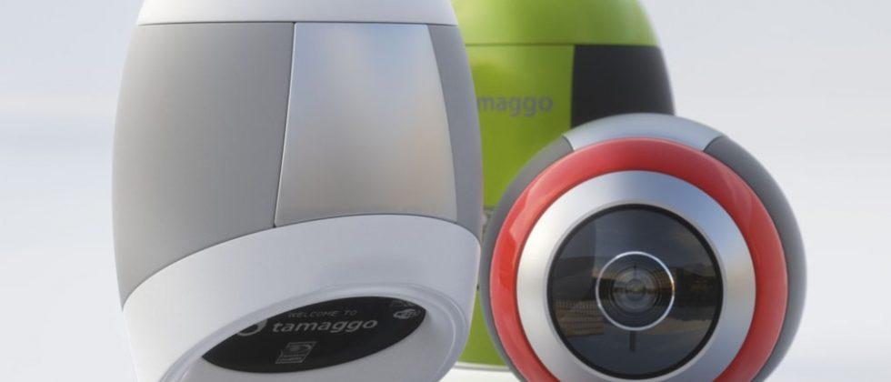 Tamaggo's 360-imager takes navigable hi-res images