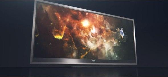 Vizio XVT CinemaWide smart TVs mimic 21:9 theater experience