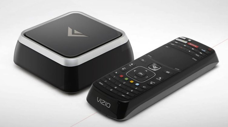 Vizio VAP430 STB and VBR430 Blu-ray pack Google TV