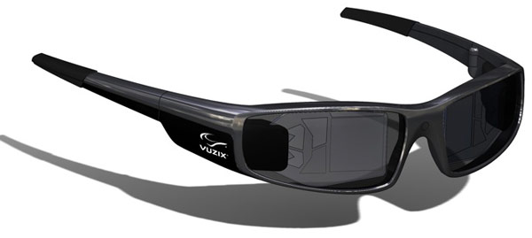 Vuzix Smart Glasses add AR display to ordinary-looking specs