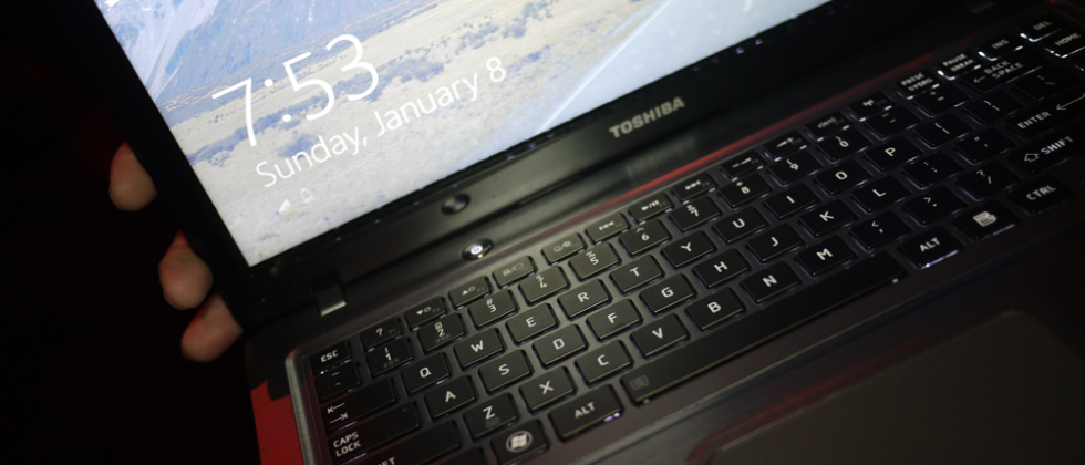 Toshiba 14-inch Windows 8 Prototype Hands-on