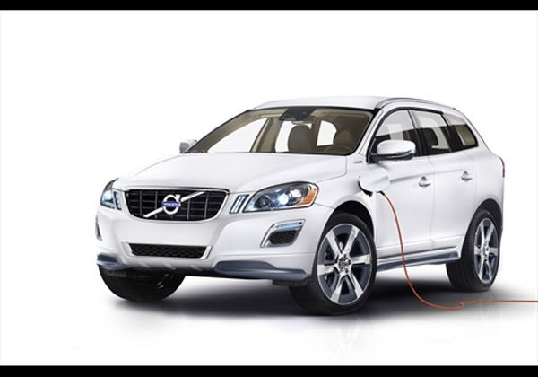 Volvo XC60 plug-in hybrid concept tipped ahead of North American International Auto Show in Detroit