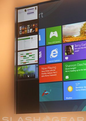 """Windows 8 Consumer Preview app interface """"Incredibly Fast and Fluid"""""""