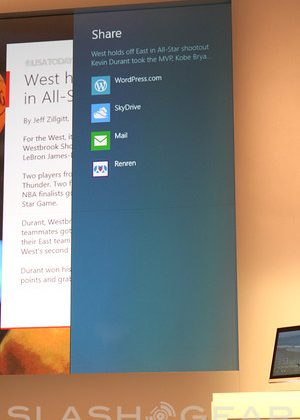 """It all works together as you would expect it to"" says Windows 8's Leblond"