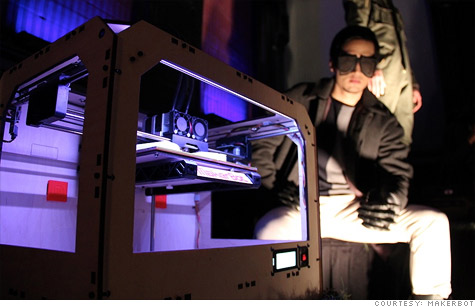 MakerBot 3D printer-created glasses are hot at Fashion Week