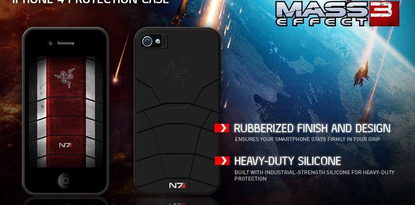 Razer unveils Mass Effect 3 accessories and iPhone case