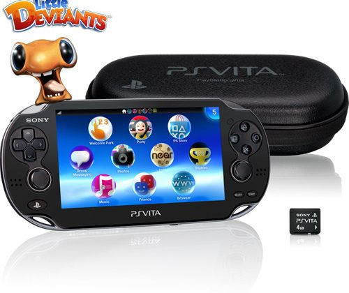 PS Vita First Edition Bundle unboxed early by Sony
