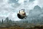 Skyrim Portal crossover brings robots to the realm