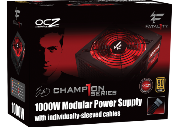 OCZ extends power supply range with kilowatt Fatal1ty PSU