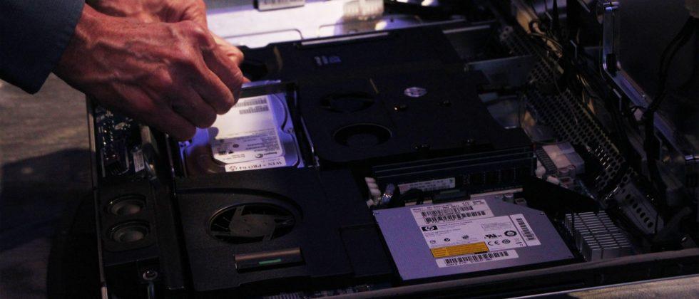 HP Z1 Workstation hands-on