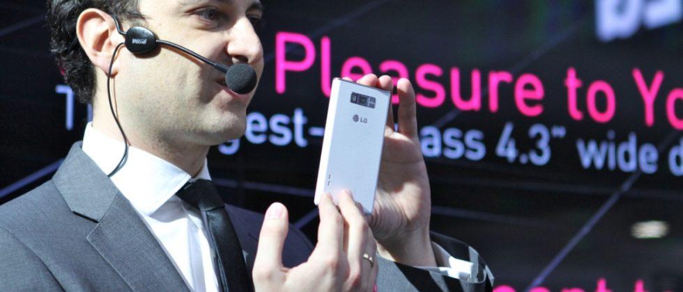 LG Optimus L7 L5 L3 L-Style Family Hands-On