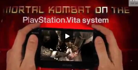 Mortal Kombat trailer teased for PS Vita