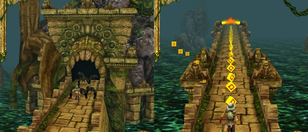 Temple Run for Android to be announced via Facebook