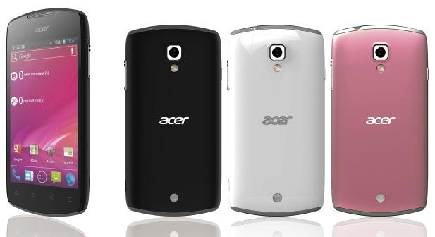 Acer Liquid Glow packs ICS and NFC