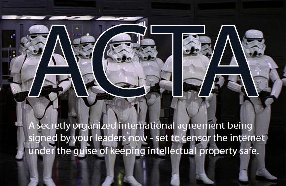 ACTA signee Slovenia ambassador now calls for mass protest