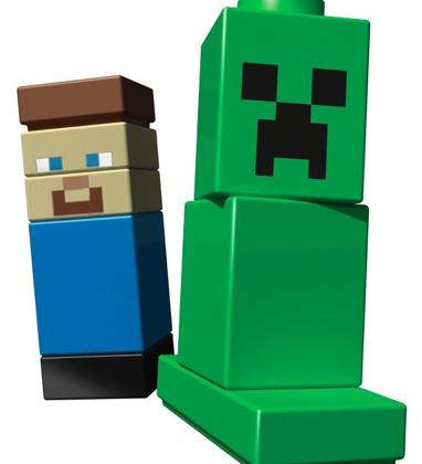 Minecraft Lego set revealed