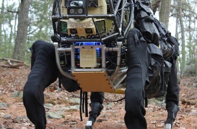 DARPA begins testing LS3 robot pack mule