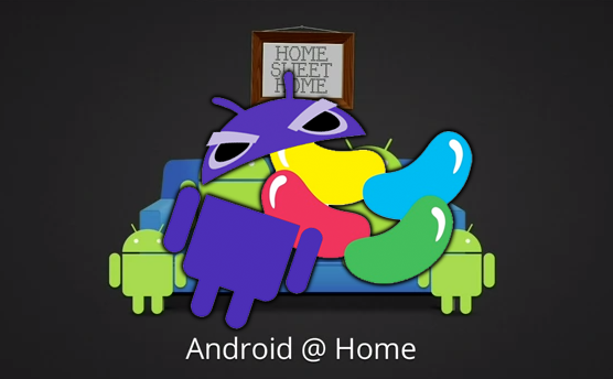 Android 5.0 Jelly Bean is Android@Home