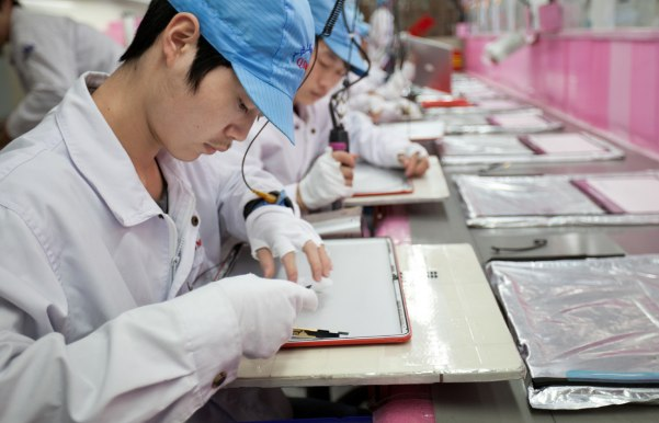 """What inspection?"" asks Pegatron over Apple FLA worker audits"