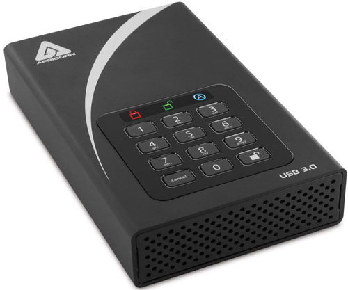 Apricorn Aegis Padlock DT gets USB 3.0