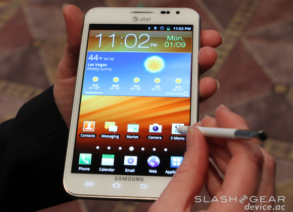 AT&T Galaxy Note LTE up for pre-order