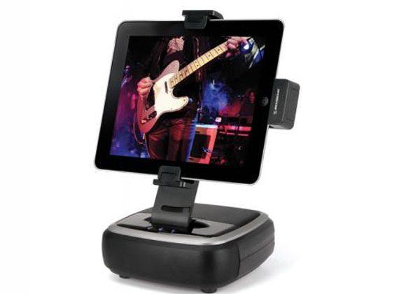 Scosche unveils bassDock for iPad