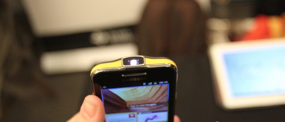 Samsung Galaxy Beam Hands-on