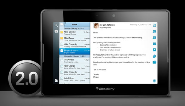 PlayBook OS 2.0 finally released