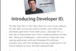 Apple announces Developer ID system for app security beyond the Mac App Store