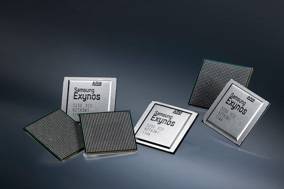 Samsung teases Exynos quad-core mobile chips ahead of MWC