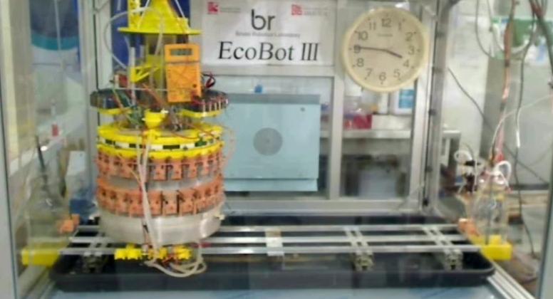 Ecobot-III Food-Consuming Robot project inventors receive PR boost