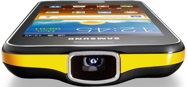 03b49230879f78 Samsung Galaxy Beam combines Android smartphone and Pico projector