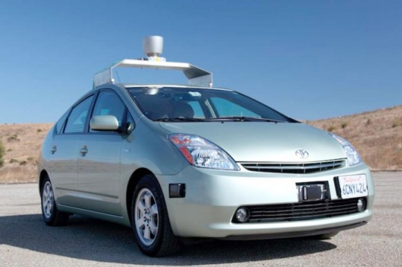 Google's self-driving car gets approval in Nevada