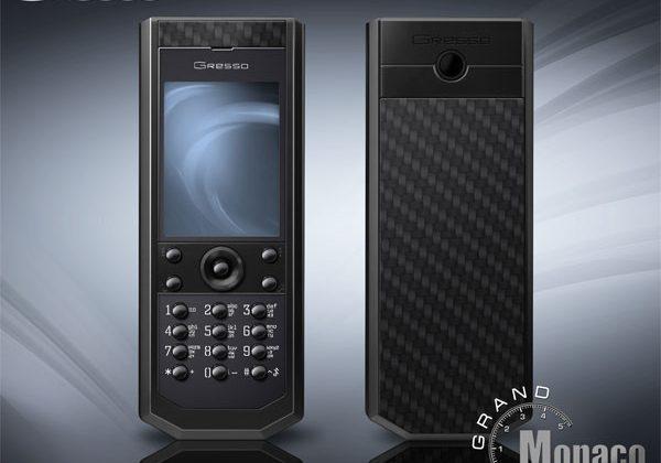 Gresso unveils extravagant Pure Black mobile phone