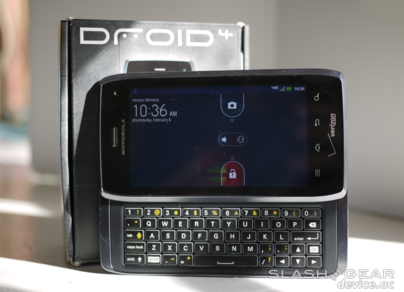 Motorola DROID 4 vs DROID RAZR MAXX vs entire Verizon Android lineup
