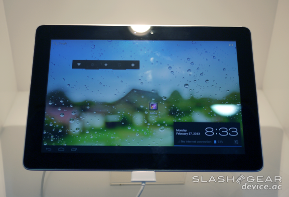 Huawei MediaPad 10FHD Hands-on