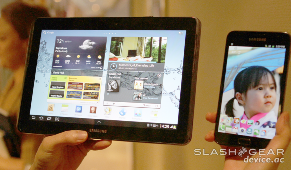 Samsung admits to tablet flop, expects success with new Galaxy Note series
