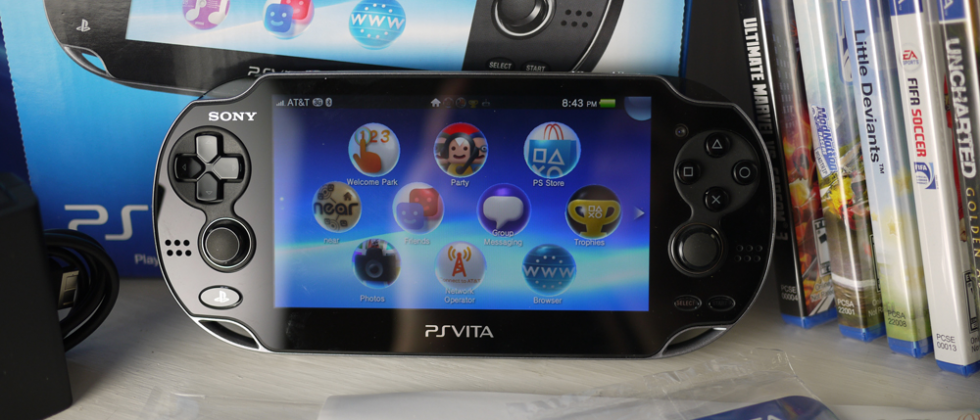 Sony PS Vita 3G Hands-on