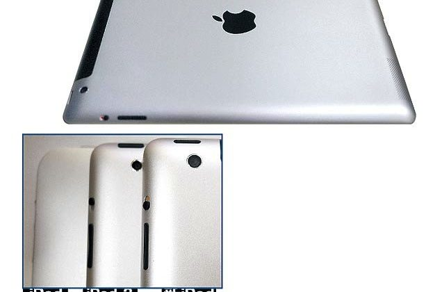 iPad 3 leak tips sleeker edges and 8MP camera