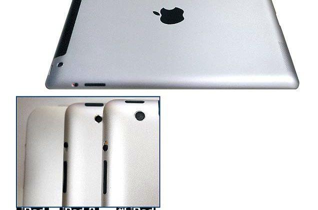 iPad 3 leak tips sleeker edges and 8MP camera