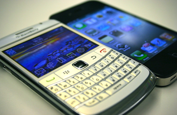 Blackberry getting dumped by Haliburton for iPhone