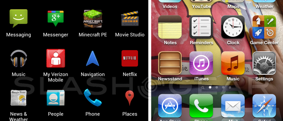 Switching between Android 4.0 ICS and iPhone 4S