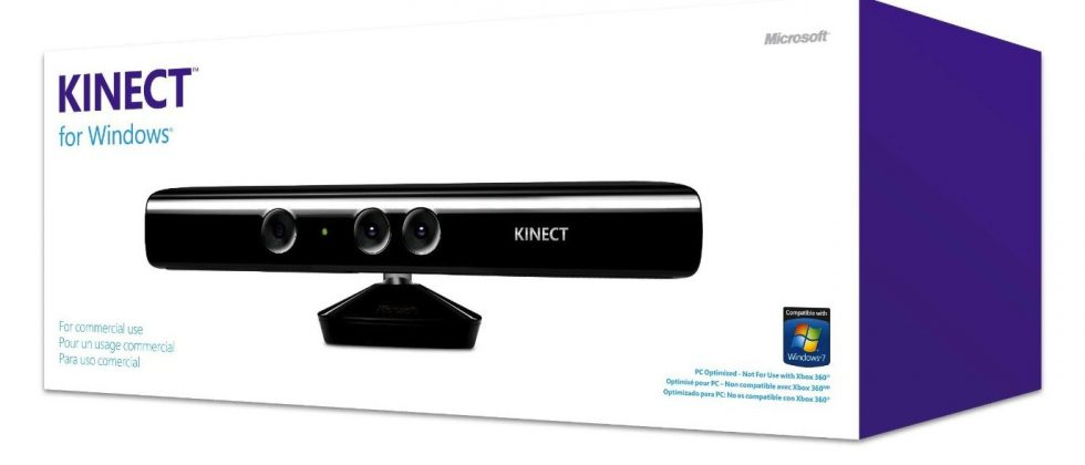 Kinect for Windows ships today; SDK v1.0 released