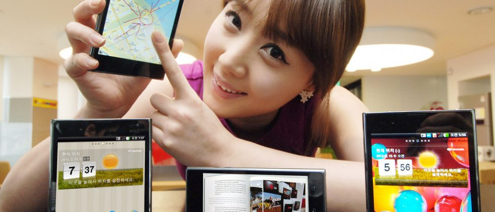 LG Optimus Vu official: Galaxy Note gets competition