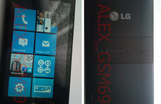 LG Fantasy Mango smartphone photos leaked