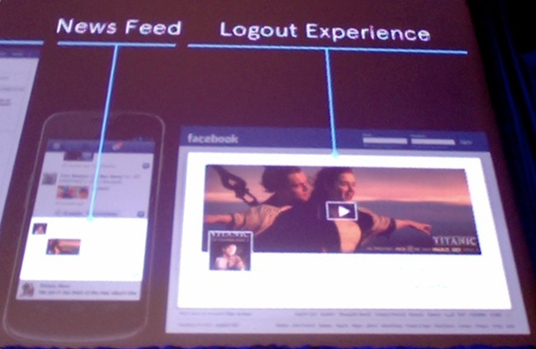Facebook debuts Offers, brings ads to mobile news feed and logout screen