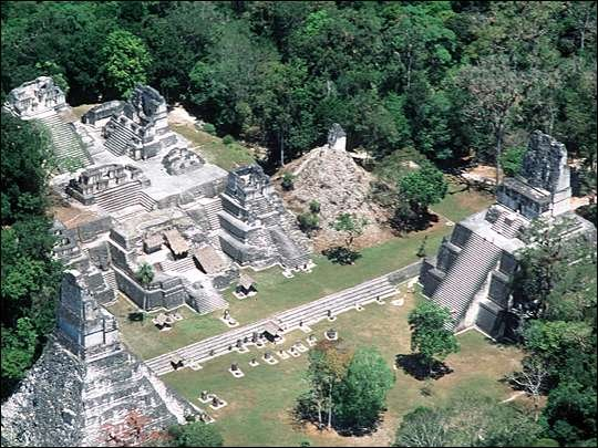 Global warming and drought could have destroyed Mayans